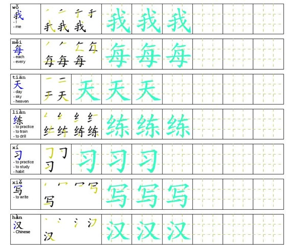 how to write chinese characters How to type in chinese characters on your us keyboard to work around the thousands of chinese characters depending on the region for which you're writing.