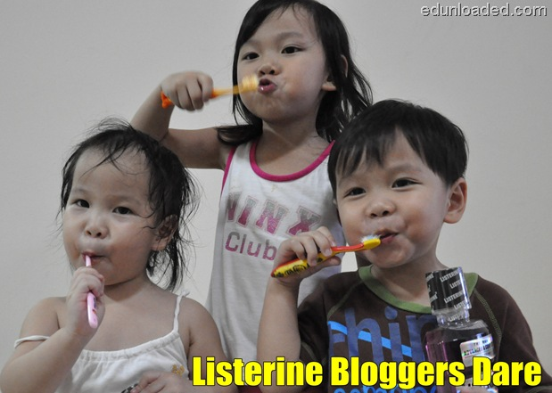 listerine bloggers dare