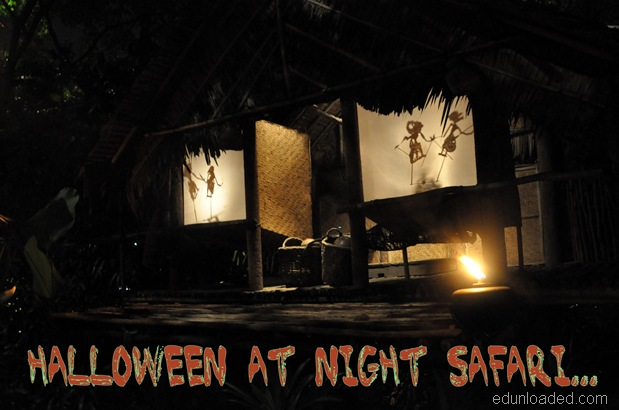 Halloween night safari