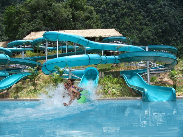 water slide tambun